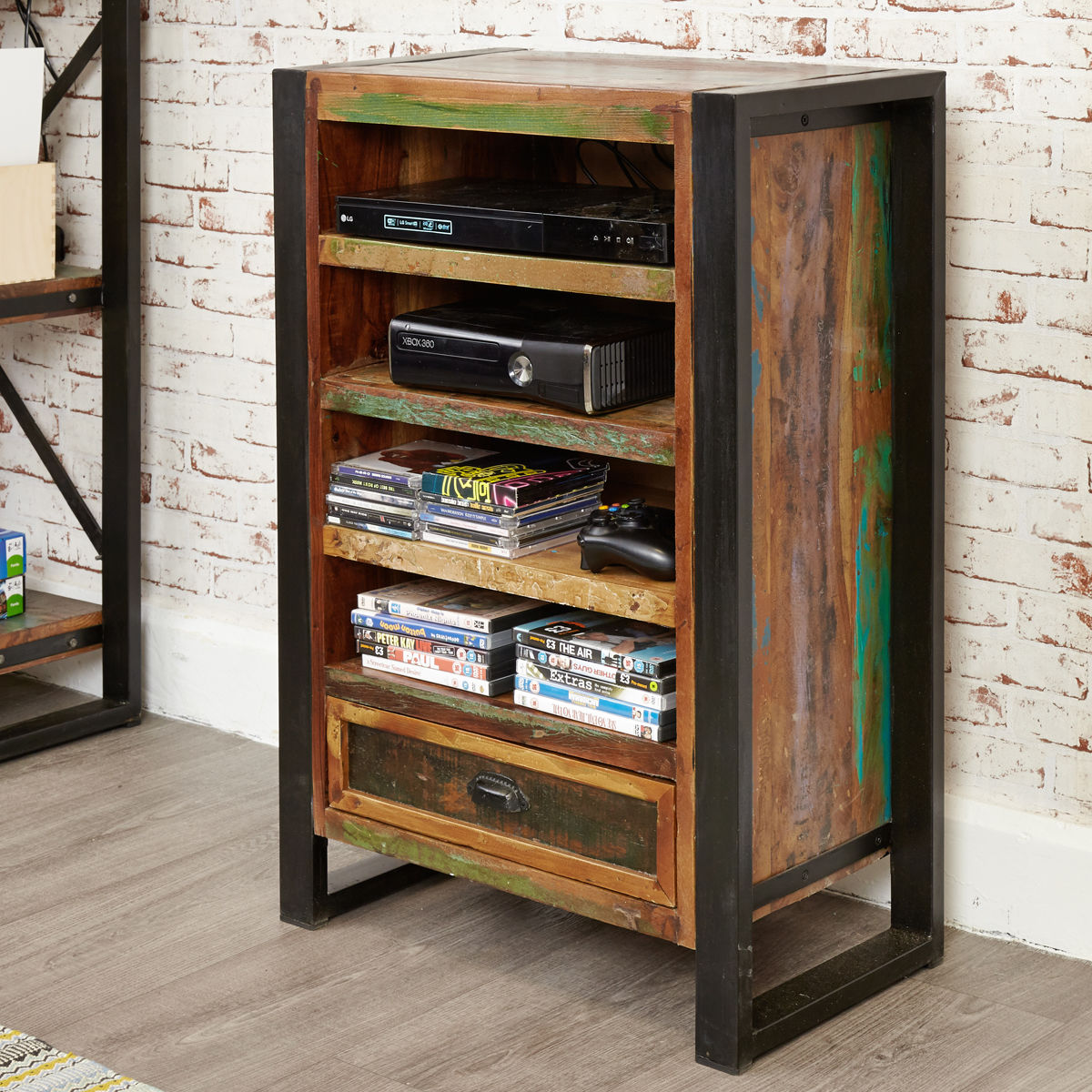 Urban Chic Entertainment Cabinet Wooden Furniture Store