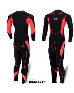 TL00001-Black / Red-2X-Large