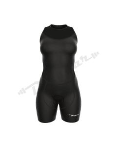 Women Triathlon Suit-Black-2X-Large