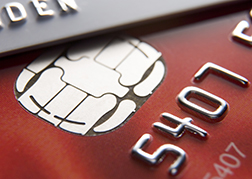 Close-Up Of Credit Cards for payment