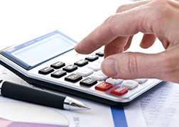Calculator working out DBS check costs