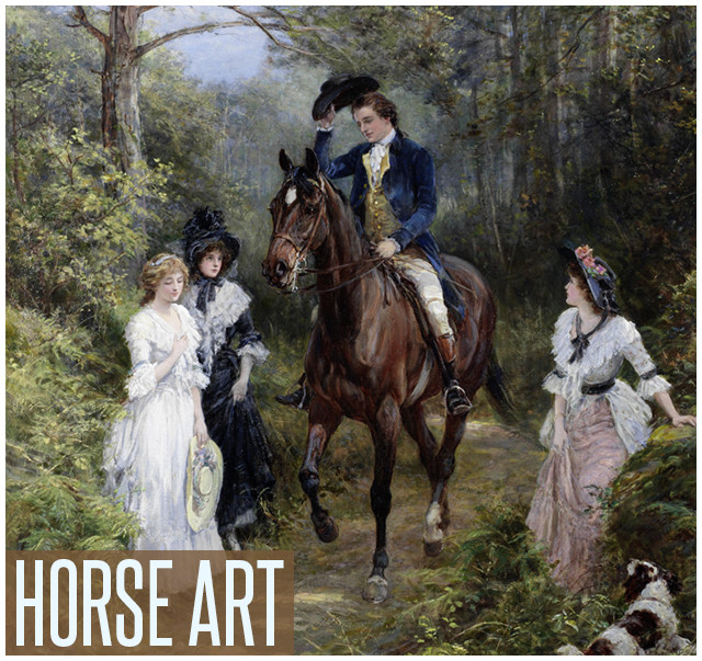 Shop Equestrian Art Prints