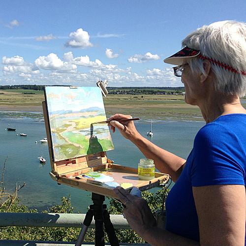 plein air painting France