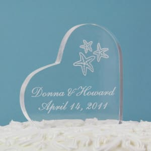 Starfish Cake Topper-Heart