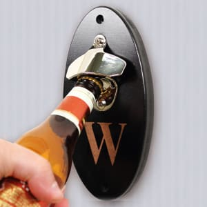 Custom Wall-Mounted Bottle Opener
