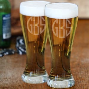 20-Ounce Glass Pilsner, Set of 2
