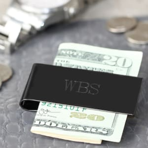 Sleek Gunmetal Money Clip