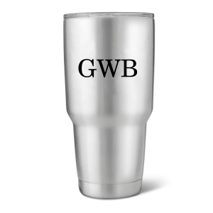 Personalized Stainless Steel Insulated Tumbler, 20 oz. or 30 oz.