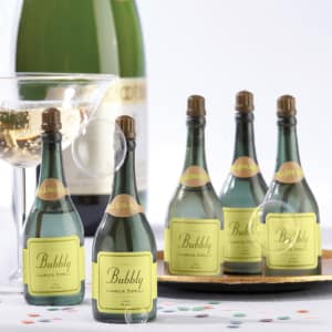 Bubbly Champagne Bubbles For Wedding Reception - Set of 24