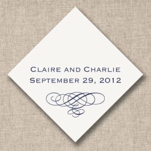 Wedding Flourish Favor Tags, sheets of 20