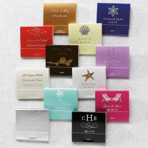 Personalized Matchbooks, Box of 50