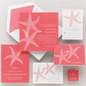 Imperial Starfish Invitation (Sample)