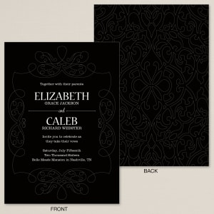 Stunning Delight Wedding Invitation