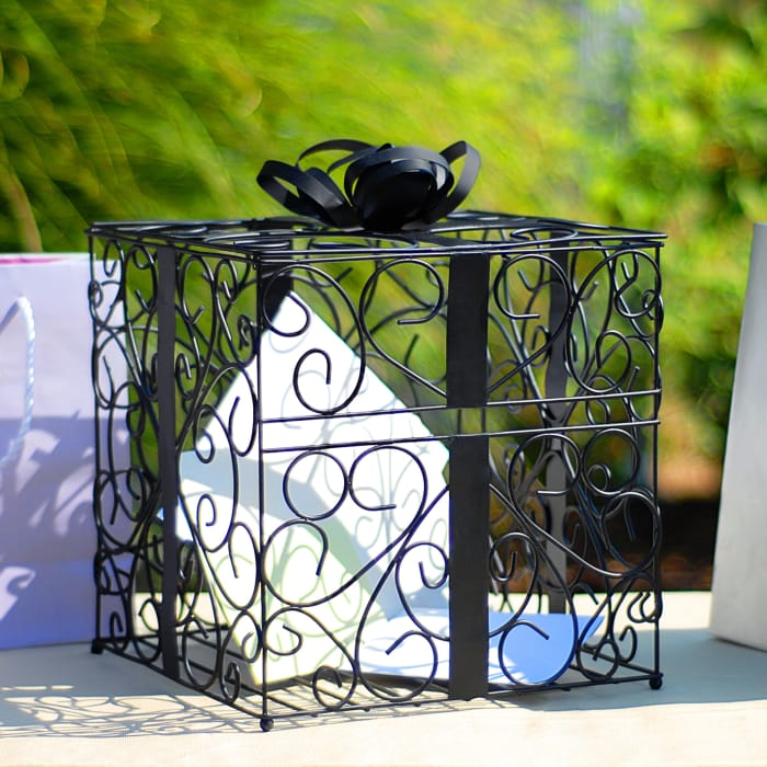 Wedding Reception Gift Card Holder | Exclusively Weddings