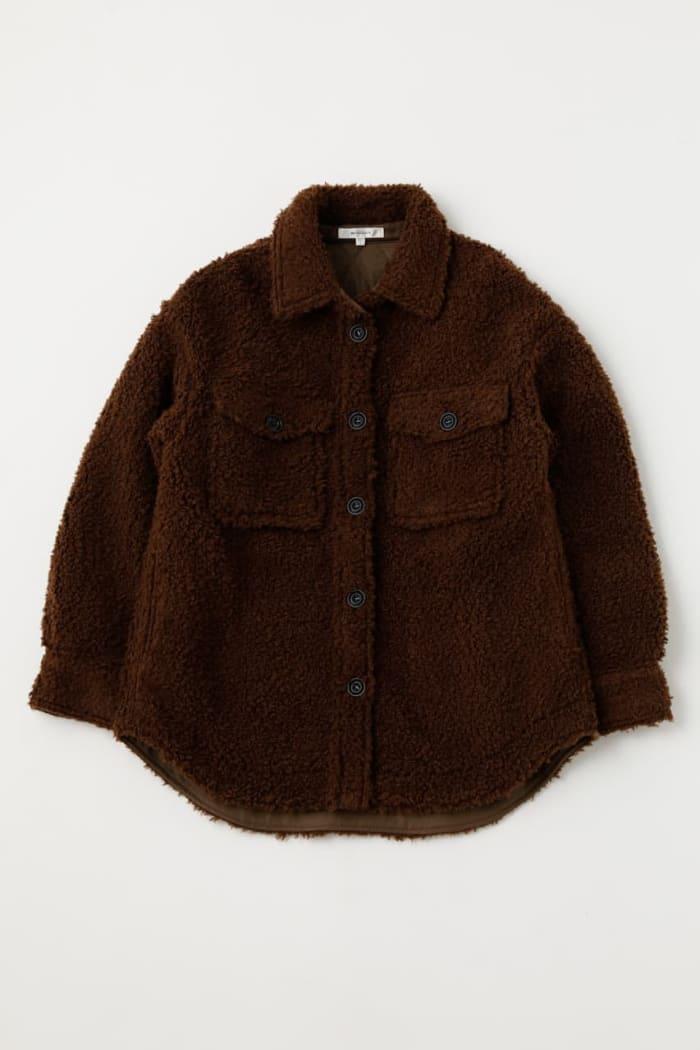 OVER SIZED BOA jacket