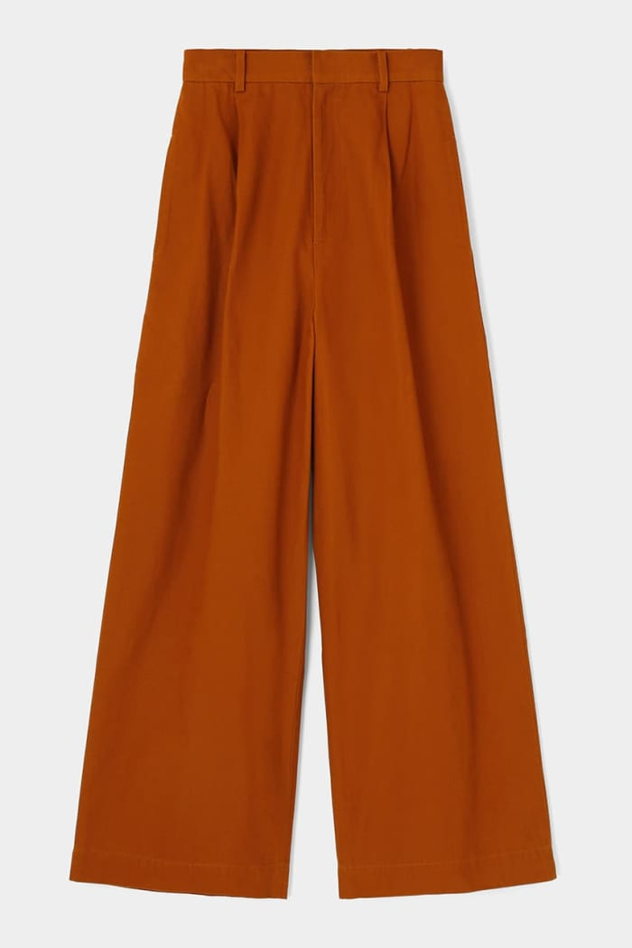 [M_] ORGANIC COTTON STRAIGHT PANTS