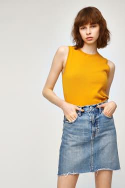 DENIM FIT MINI Skirt