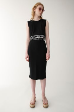 SW LOGO PENCIL skirt
