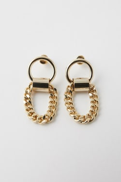 THICK CHAIN EARRINGS