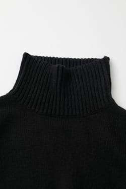 High NECK BIG Knit