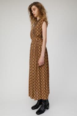 CHECK MAXI Skirt