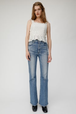 POLKA DOT SHIRRING Top