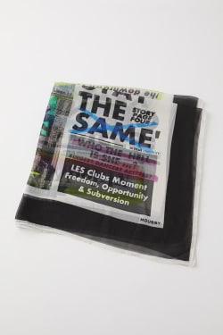 GRAFFITI NEWSPAPER SCARF