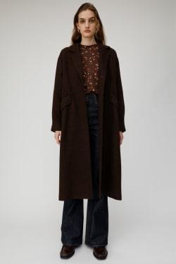 MIXED COLOR long coat