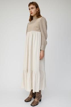 CORDUROY COMBI dress