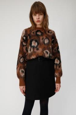 WAIST BELT mini skirt