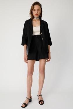 Half Sleeve LINEN BLEND jacket