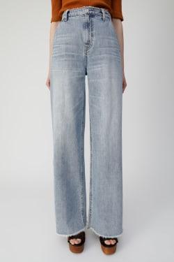 High WAIST FRINGE wide pants