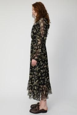 DENSE FLOWER dress