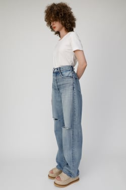 HIGH WAIST LOOSE STRAIGHT