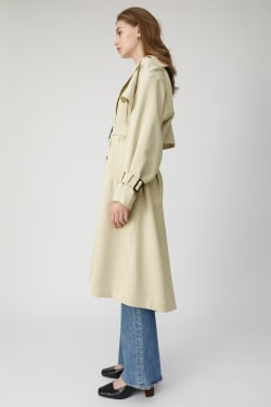 OVER SILHOUETTE Trench coat