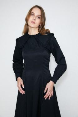 MOUSQUETAIRE COLLAR blouse