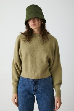 WIDE SLEEVE KNIT TOP