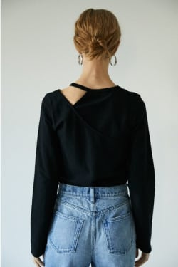 CUT OUT LAYERED TOP