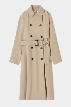 DRAPE LOOSE TRENCH COAT