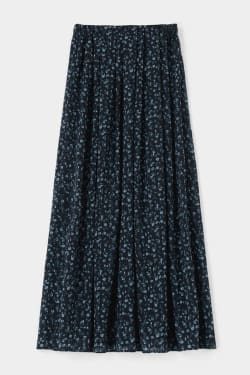 FLOWER LONG skirt
