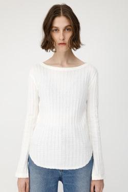 COMPACT RIB Long Sleeve T-shirt