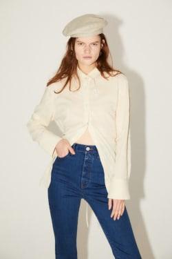 [M_] STAND COLLAR shirt