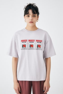 MOUSSY TAGS T-SHIRT