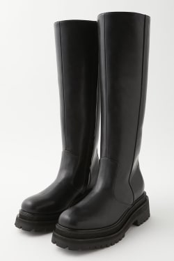 TRACK SOLE SQUARE boots