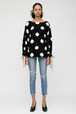 MV DOT LONG SLEEVES TOP