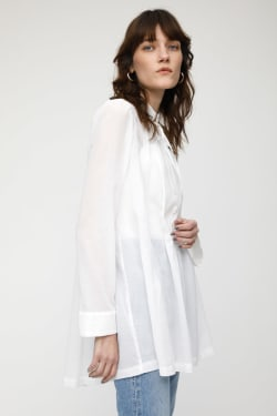 MV COTTON CHIFFON OVER SHIRT