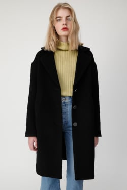 OS RICH WOOL COCOON COAT