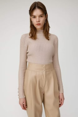 MINI CABLE knit tops