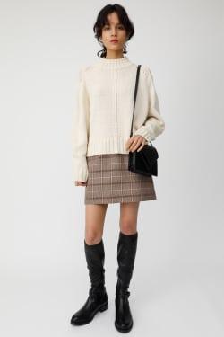 SPRING COLOR B / N knit tops