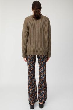 CUT FLARE FLOWER Pants